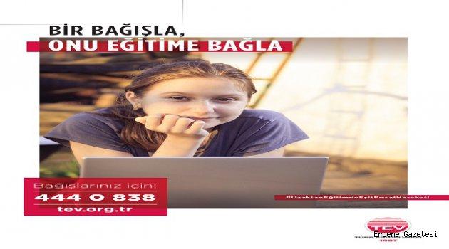"""Astrazeneca Türkiye'den TEV'in """"Uzaktan Eğitimde Eşit Fırsat Hareketi""""Ne 670 Bilgisayar Bağışı"""