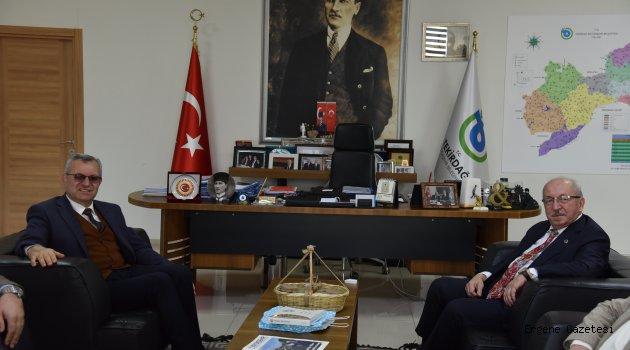 Başkan Mustafa Helvacıoğlu'ndan Tekirdağ Ziyaretleri