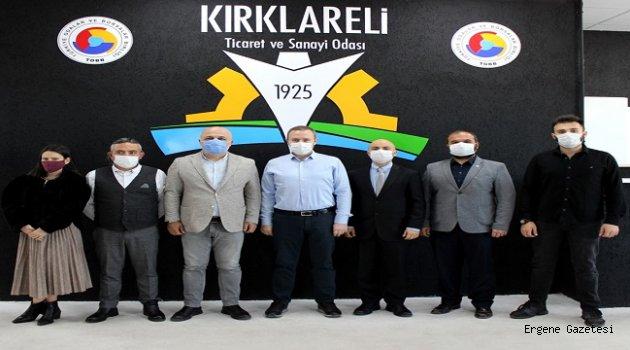 Başkan Soner Ilık, DEVA Partisi Kırklareli İl Yönetimi'ni Ağırladı