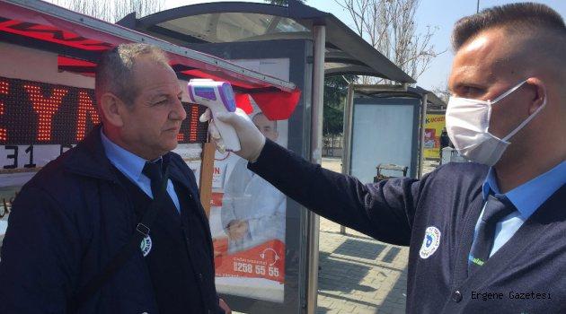 Büyükşehir Belediyesi'nin COVİD 19 Önlem Çalışmaları Devam Ediyor