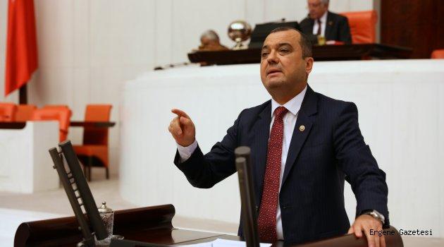 CHP Tekirdağ Milletvekili Dr. Aygun'dan Yeşil Alan Talebi