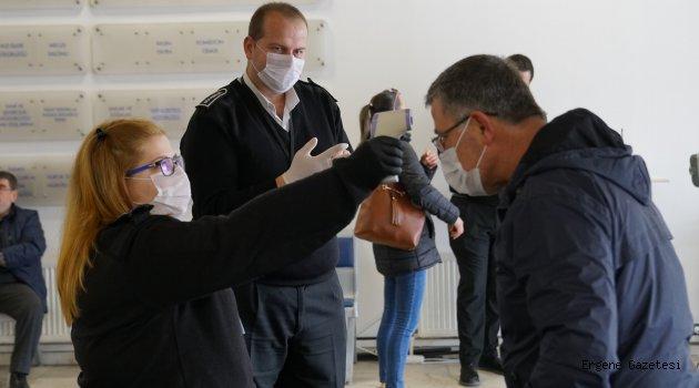 Çorlu Belediyesi'nde Koronavirüse Karşı Tedbirler Sürüyor