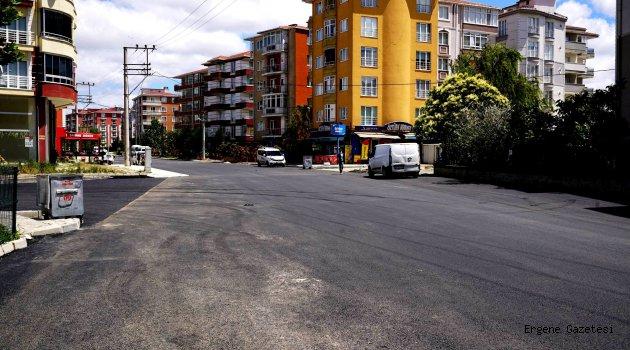 Dadaloğlu Caddesi'nde Asfalt Çalışması Tamamlandı