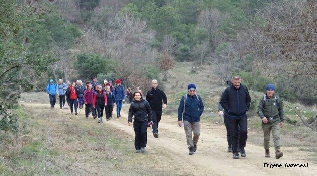 DOÇEK Suluca-Yeşilköy arasında yürüdü.