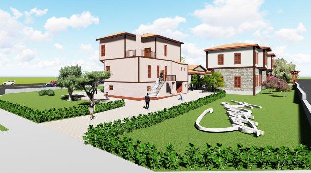 Ergene Atatürk Evi Projesinin Temeli Atılıyor