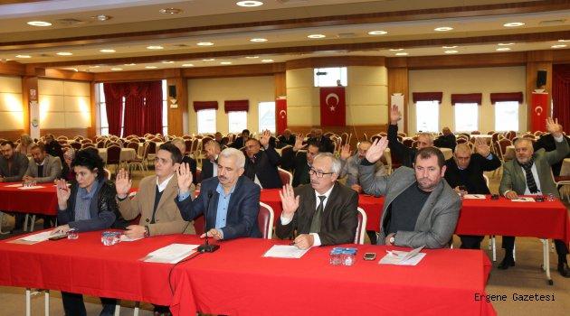 Ergene Belediyesi Aralık Ayı Olağan Meclis Toplantısı Yapıldı