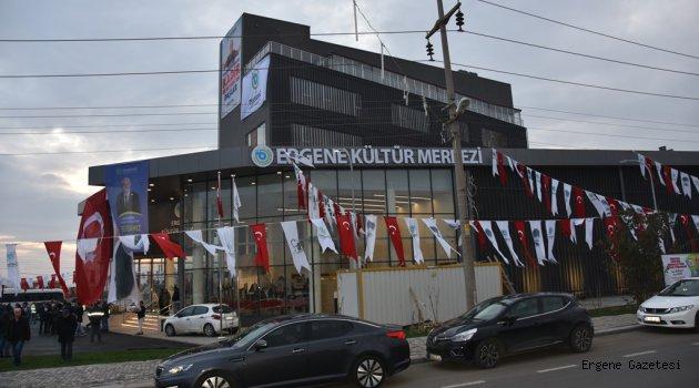 Ergene Kültür Merkezi Törenle Hizmete Açıldı