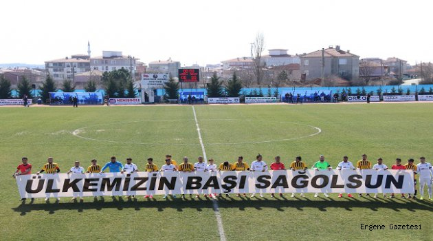 Ergene Velimeşespor 1-0 Mağlup Oldu