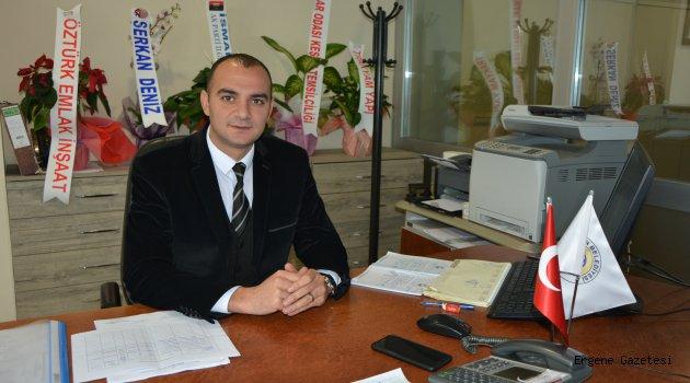 İmar ve Şehircilik Müdürü Ali Ünal, müteahhitlik yapma hakkında bilgilendirdi