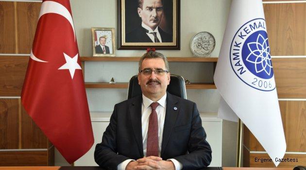 NKÜ  Rektörü Prof. Dr. Mümin ŞAHİN'in '10 Ocak Çalışan Gazeteciler Günü' Mesajı