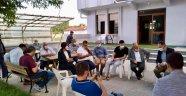 Ak Parti Ergene de yağışlardan zarar gören mahalleleri gezdi