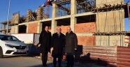Başkan Albayrak'tan Saray Kültür Merkezi'nde İnceleme