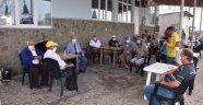 BAŞKAN ALBAYRAK'TAN HOŞKÖY SU ÜRÜNLERİ BALIKÇI KOOPERATİFİNE ZİYARET