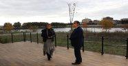 Başkan Vekili Salih Tıknas Marmaracık Göleti'ni İnceledi