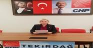 CHP İl Kadın Kollarının Basın Açıklaması