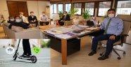 Çorlu Belediyesi 'Martı' ile Çevre Dostu Ulaşımı Destekliyor