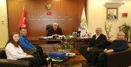 Ergene'li Milli Sporcu Başkan Yüksel'i Ziyaret Etti