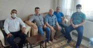 Ergene Şehit ve Gazi Aileleri Derneğinden Şehit ve Gazi Ailelerine Bayram ziyareti
