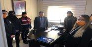 Kaymakam TAŞÇI'dan Aile İçi Şiddet Büro Amirliği'ne Ziyaret