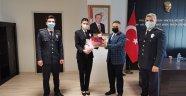 Polis Haftası Nedeniyle Kaymakam TAŞÇI' ya Ziyaret