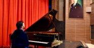 Tekirdağ'da Piyanist Zoran Imsirovic Rüzgârı Esti