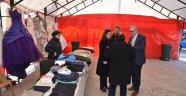 Yardım Çadırı 24 Ocak'a Kadar Açık Kalacak.