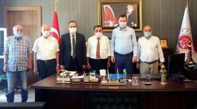 Tekirdağ'da BİK ve Yerel Basından Adliye Ziyareti